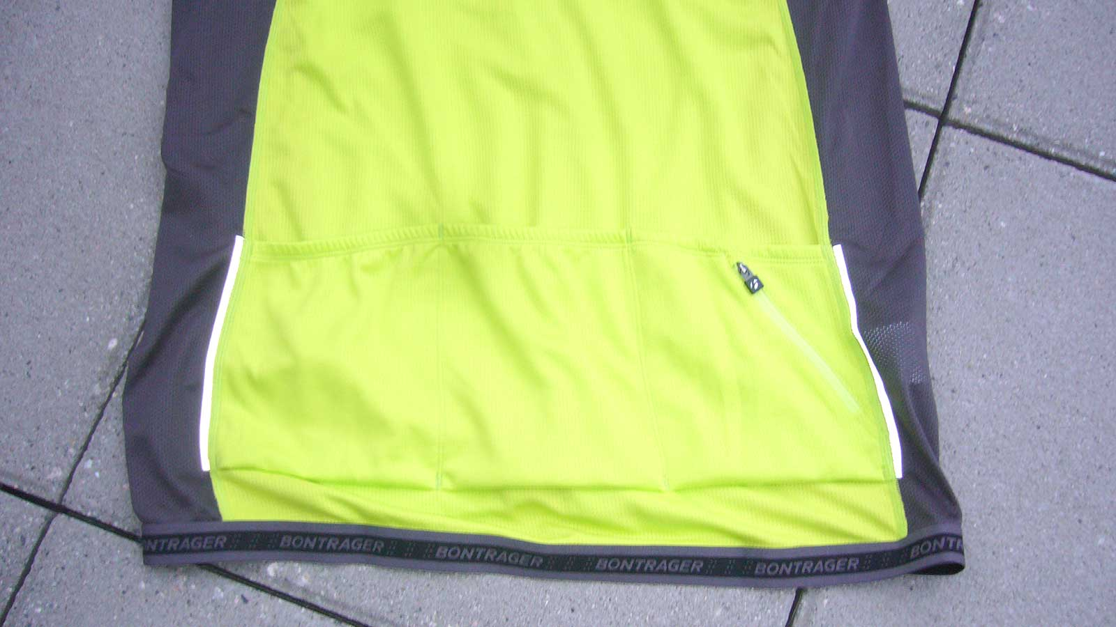 Bontrager Foray Jersey Back Panel