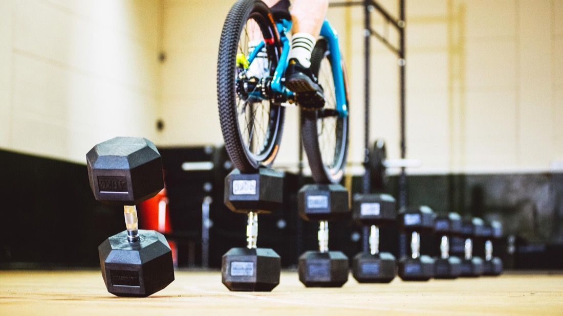 Danny MacAskill goes to the gym